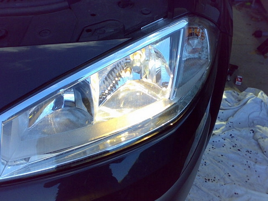 megane ii headlight bulb